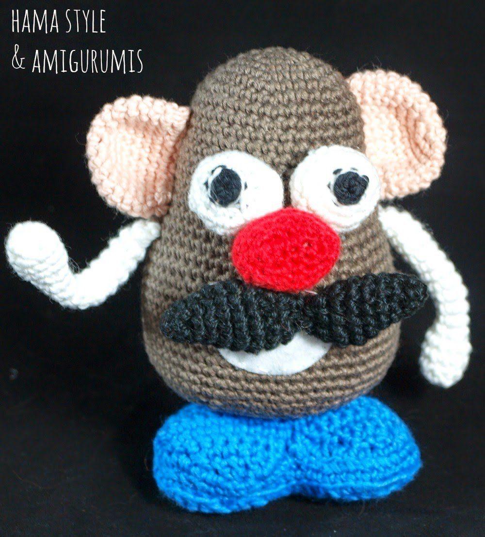 Mr. Potato Amigurumi – [PATRÓN GRATIS]