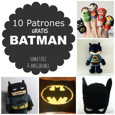 Lee más sobre el artículo #BatmanDay – 10 patrones amigurumis BATMAN [GRATIS]