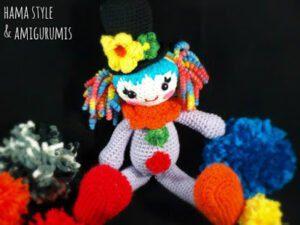 La payasina Pepa – Pepa clown [PATRÓN GRATIS/ FREE PATTERN]