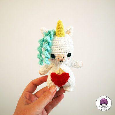 Aura the little Unicorn – Aura la Unicornia [PATRÓN GRATIS]