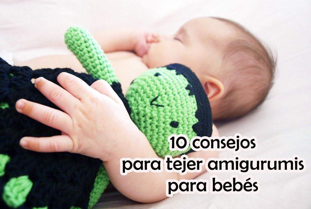 10 Consejos para tejer amigurumis para bebés