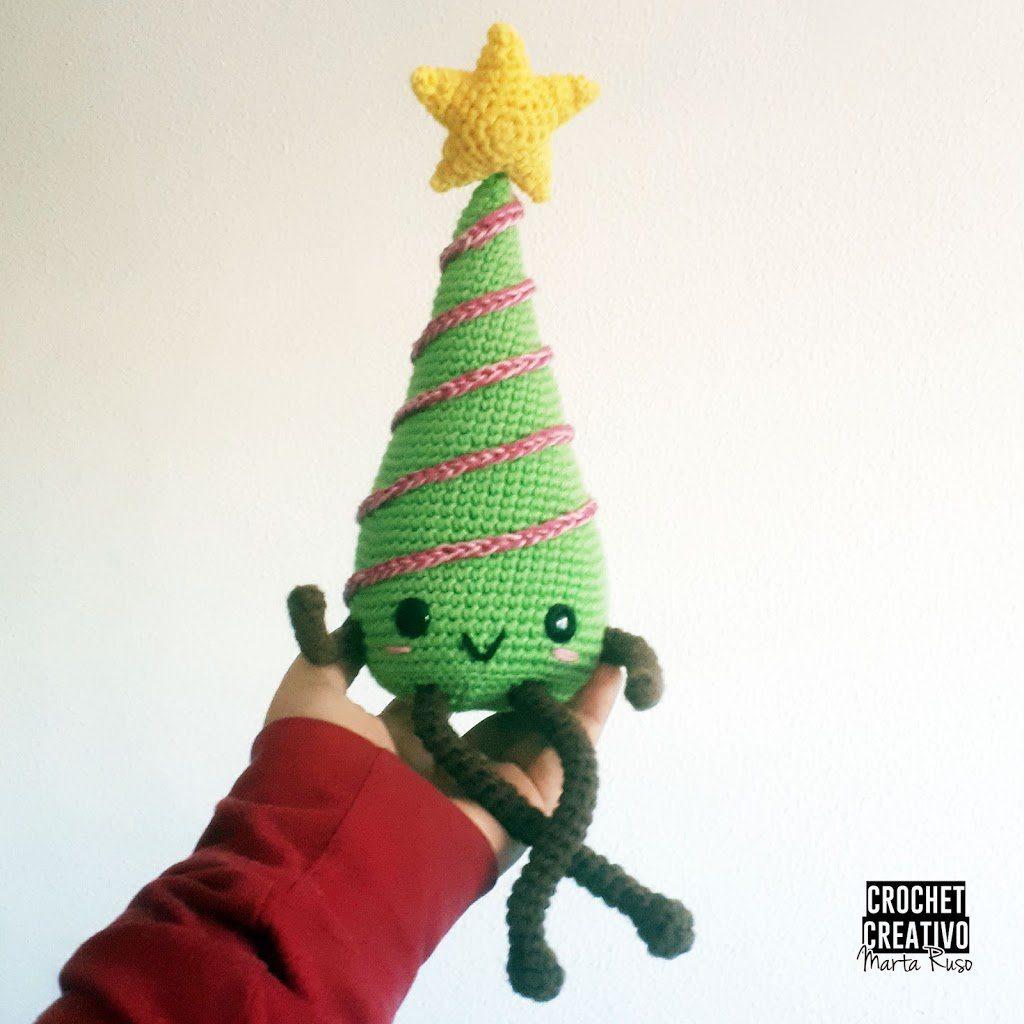 Árbol de Navidad – Tito el arbolito [PATRÓN GRATIS]
