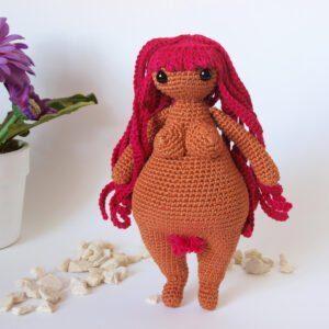Patrón muñeca amigurumi Venus – Día de la Mujer