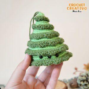 Patrones adornos Navidad amigurumis para el árbol