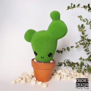 Patrón Erizo y Cactus amigurumi