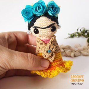 Patrón Frida amigurumi