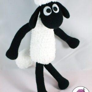 Patrón oveja Shaun amigurumi