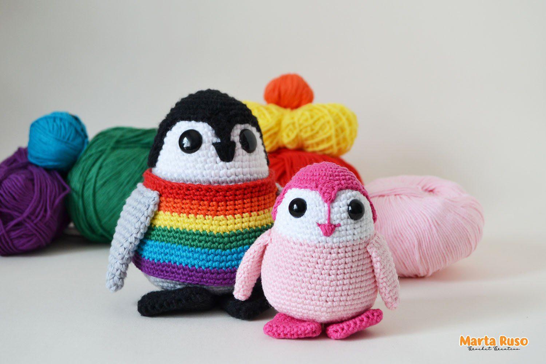 Lee más sobre el artículo Laponio con Orgullo 🌈 – Patrón pingüino amigurumi