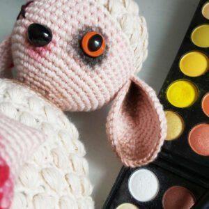 Patrón Oveja Zombie amigurumi a crochet